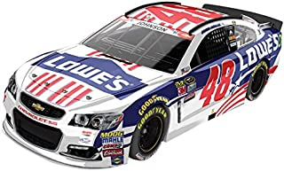 Lionel Racing C486821NSJJ Jimmie Johnson #48 Lowe's Salutes 2016 Chevrolet SS ARC HOTO NASCAR Official Diecast Vehicle (1:24 Scale)