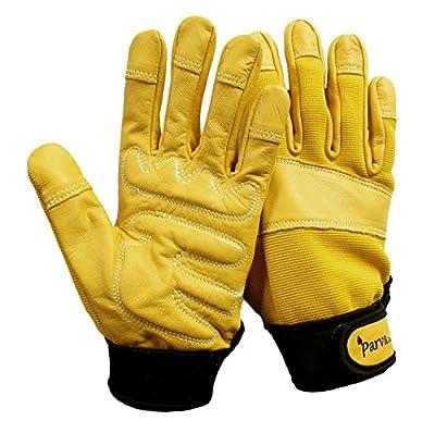 Heavy Duty Gardening Gloves for Men or Women, Garden Gloves with Reinforced Palms