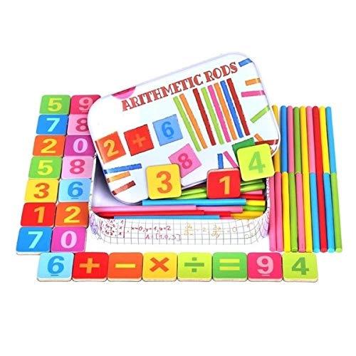 Eurroweb set met dozen en stokjes educatief spel Montessori