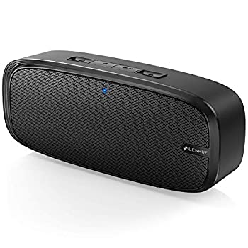 LENRUE Bluetooth Speaker Wireless Portable Speaker with Loud Stereo Sound Rich Bass 12-Hour Playtime Built-in Mic Perfect for iPhone Samsung and More