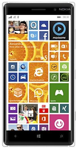 Nokia Lumia 830 Smartphone, Display 5 pollici, Processore Snapdragon 400 1,2GHz, Fotocamera 10 MP, Win 8.1, Arancione [Germania]