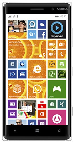Nokia Lumia Smartphone (Snapdragon 400 processor, 12,7 cm (5 inch), 1,2 GHz, 10 megapixel camera, touchscreen, Win 8.1), 16 GB, oranje