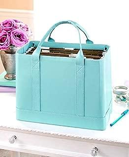 CTD Store Elegant, Stylish ,Convenient File Hanging Folder Organizer (Blue)