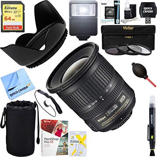 Nikon (2181) AF-S DX NIKKOR 10-24mm f/3.5-4.5G ED Lens