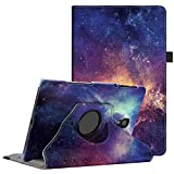 Fintie Hülle für Samsung Galaxy Tab A 10.5 2018, 360 Grad verstellbare Schutzhülle Cover Hülle Tasche mit Auto Schlaf/Wach Funktion für Galaxy Tab A 10,5 Zoll SM-T590/T595 Tablet-PC, Die Galaxie