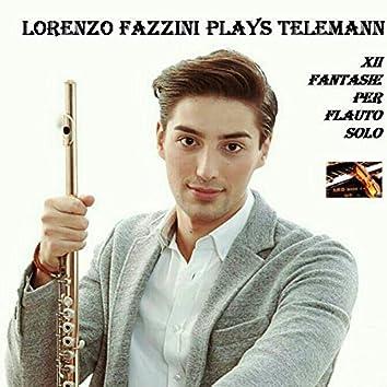 Lorenzo Fazzini plays Telemann; XII Fantasie per flauto solo