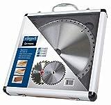 Scheppach Scie 7901200716Accessoires/hw Lames de scie/Set de scie, Idéal pour couper des palettes, Stratifiés, panneaux de bois, plastiques, aluminium et les métaux non-ferreux, 24/48Z