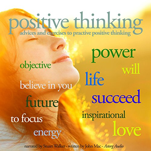 Positive thinking audiobook cover art