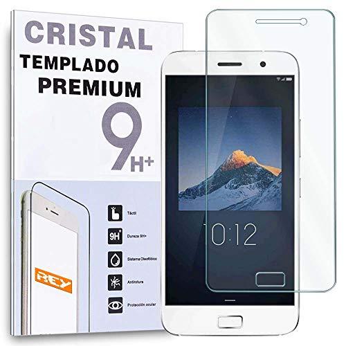 REY Protector de Pantalla para Lenovo ZUK Z1 Cristal Vidrio Templado Premium