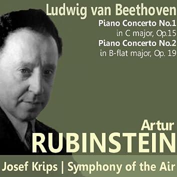 Beethoven: Piano Concerto No. 1 in C Major, Piano Concerto No. 2 in B-Flat Major