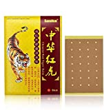 Sumifun Pain Relieving Patches,128 Pcs of Herbal Patches for Relieving Back Muscle & Joint Soreness, Hot Patch Tiger Chinese for Bone Pain Relief, for Parents, Worker(16)