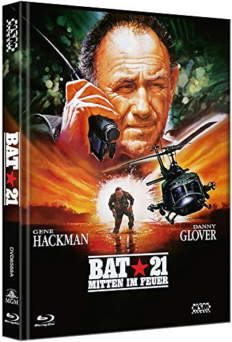 BAT 21 - Mitten im Feuer [Blu-Ray+DVD] - uncut - limitiertes Mediabook Cover A