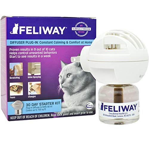 Price comparison product image Feliway Classic Plug-in Diffuser and Refill (48 ml)