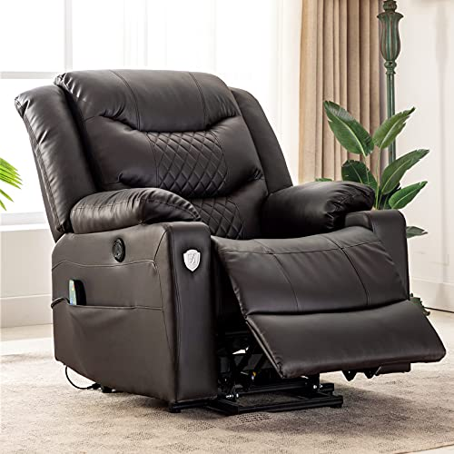 EVER ADVANCED Power Lift Chair Recliner for Elderly Home Theater...