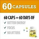 Instant Energy Focus Dietary Supplement, 60 Capsules #1