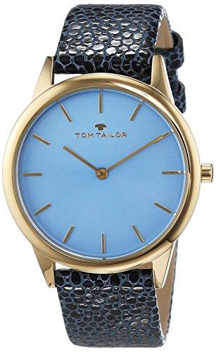 TOM TAILOR Watches Damen-Armbanduhr Analog Quarz Leder 5414704