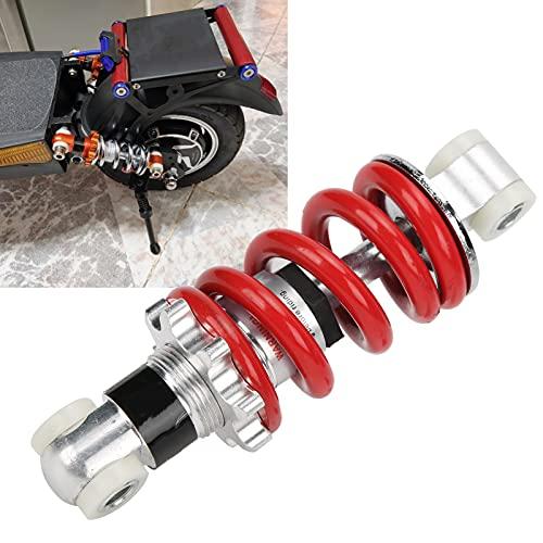 Resorte de amortiguador universal mini amortiguador, presión de resorte ajustable 750 lb/pulg.Capacidad de carga máxima, adecuado para ciclomotor mini scooter de 750 lb/pulg 125 mm