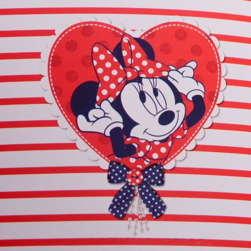 Disney Kinder Picknickdecke Minnie Mouse 130 x 150 cm beschichtet