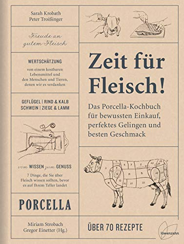 Zeit für Fleisch!: Der Porcella-Leitfaden für bewussten Einkauf, perfektes Gelingen und besten Geschmack