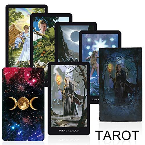 Leader Hexen Tarot-Karten Deck Brettspiel bildete Qualität lesen The Fate Mythic Divination Card Games