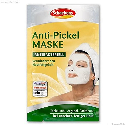 Schaebens Anti-Pickel-Maske Antibakteriell 2x5ml
