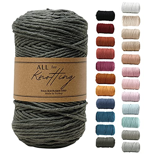 All for Knotting 3mm Single Strand Macrame Cord