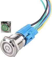 HiLetgo Latching Pushbutton Switch 16mm 5/8