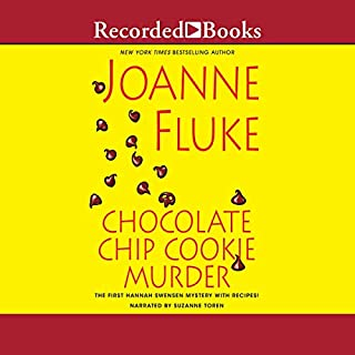 Chocolate Chip Cookie Murder                   By:                                                                                                                                 Joanne Fluke                               Narrated by:                                                                                                                                 Suzanne Toren                      Length: 9 hrs and 32 mins     915 ratings     Overall 4.1