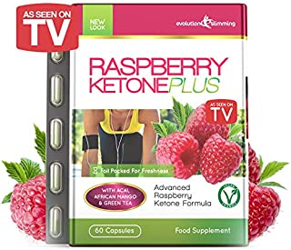 Raspberry Ketone Plus [AS SEEN ON TV] Over 1 Million Sold, Featured on Fox News. Made from EU Approved Natural Raspberry Ketones. Appetite Suppressant, Vegetarian Friendly.