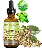 Aceite orgánico SACHA INCHI. 100% puro/natural/sin diluir/virgen/sin refinar. Para el cuidado de la piel, el cabello, los labios y las uñas. 0.5 onzas líquidas.