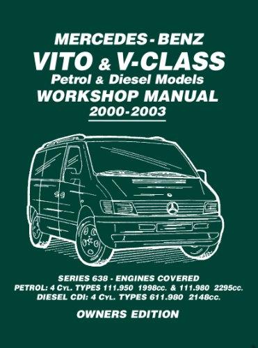 Mercedes Benz Vito & V Class (English Edition)
