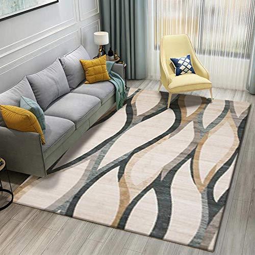 KaO0YaN,Alfombra artística Abstracta Moderna, alfombras de Mesa de café, alfombras Multicolores, Alfombra Suave de área Baja de pila-006_120x160cm