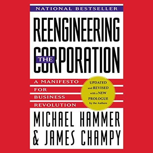 Reengineering the Corporation audiobook cover art