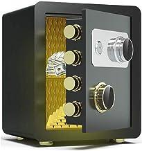KDEKIFN Security Safe Box Keypad Lock Home Office Hotel Business Jewelry Cash Use Money (Color : B)