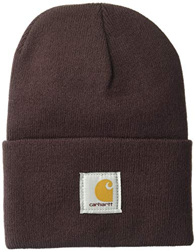 Carhartt Unisex-Adult Watch Hat Beanie Hat, Deep Wine, OFA