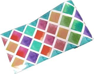 VOSAREA Pegatina de Pared Antiaceite Azulejos de Mosaico Impermeble Auto-Adhesivo Fondo para Cocina Pared Sala 500 x 20 cm