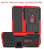 Yiakeng Moto G7 Plus Case, Moto G7 Case, Shockproof Slim