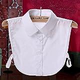 Tandou Fake Kragen Abnehmbare Blusenkragen Krageneinsatz Damen (5#)