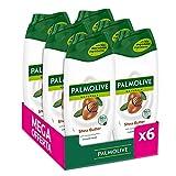 Palmolive, Bagnoschiuma Naturals, Bagnodoccia Crema Per Il Corpo Al Burro di Karité, Idra...
