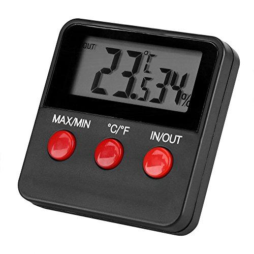 Keuken Binnenthermometers Digitale LCD-thermometer Hygrometer Temp-vochtigheidsmeter Meter voor ei-incubator Huisdier houden