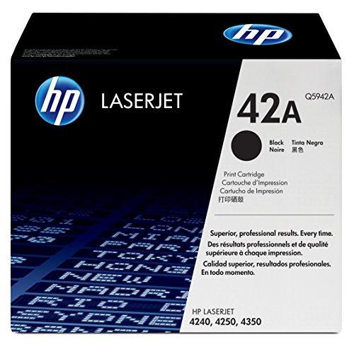 اسعار خرطوشة حبر أسود أصلية HP 42A (Q5942A)