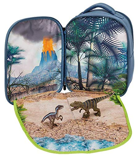 Animal Planet 387723 Dinosaur Prehistoric Life 3D Backpack Playset