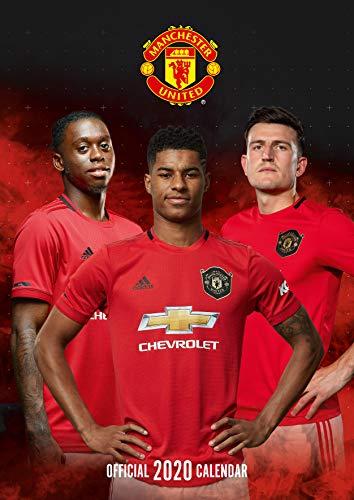 Manchester United FC 2020 Calendar - Official A3 Wall Format