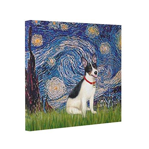EleganceElegant Pet Famous Rat Terrier Canvas Pop Art