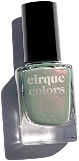 Cirque Colors Shimmer Holographic Sparkle Nail Polish - 0.37 fl. oz. (11 ml) - Vegan, Cruelty-Free, Non-Toxic Formula (Succulent Garde)