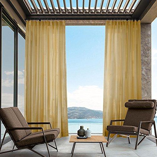 Cololeaf - Cortina para interiores y exteriores, para patio ...