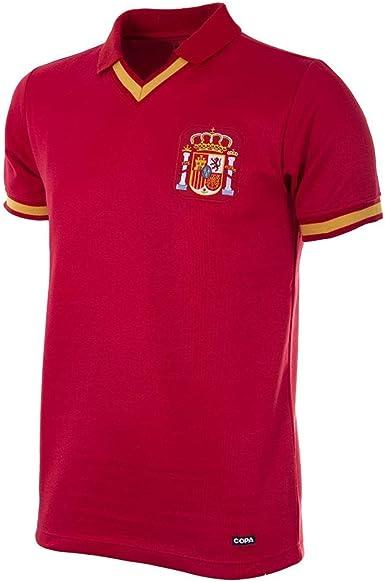 Copa Spain 1988 Retro Football Shirt Camiseta Retro con ...