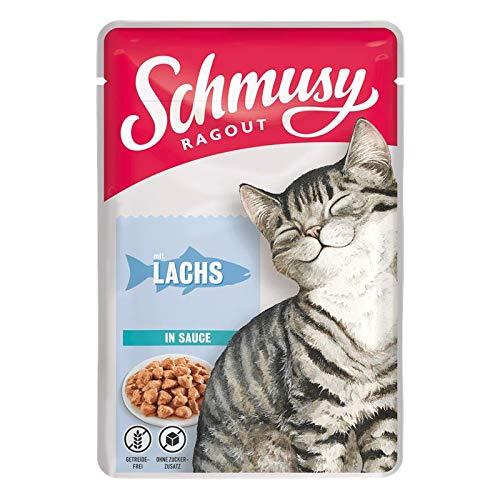 Schmusy Ragout mit Lachs in Sauce 100g (Menge: 22 je Bestelleinheit)