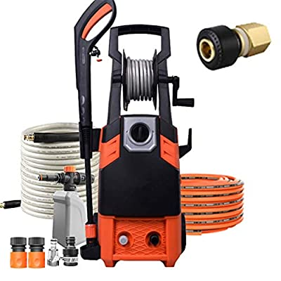 ZXL High Powered Pressure Washer,1800W 10M High Pressure Hose and Hose Reel Jet Washers,Car Washing Machine from Zxl
