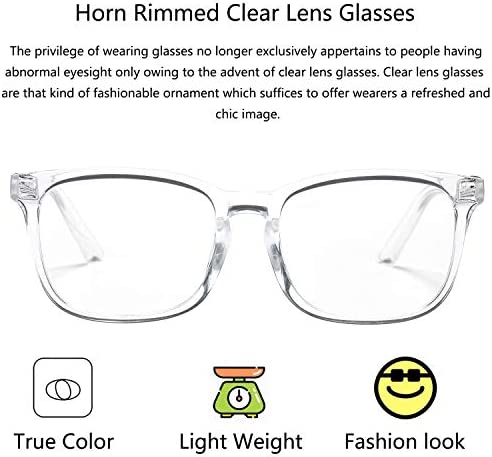 Clear glasses mens _image2